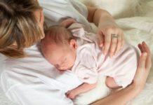 Os primeiros dias de vida do bebé