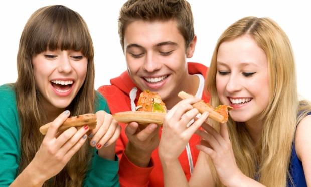 Os jovens e a alimentação
