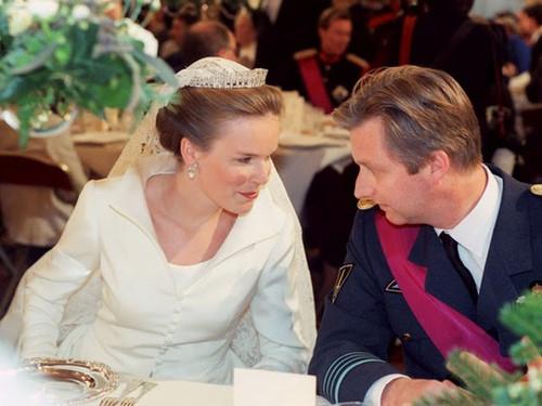 Casamento de Mathilde DUdekem