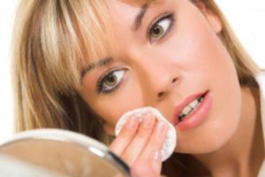 Limpeza facial: sem maquilhagem
