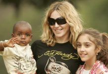 Madonna e o segundo filho - David