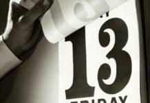Sexta-feira 13, o dia do azar