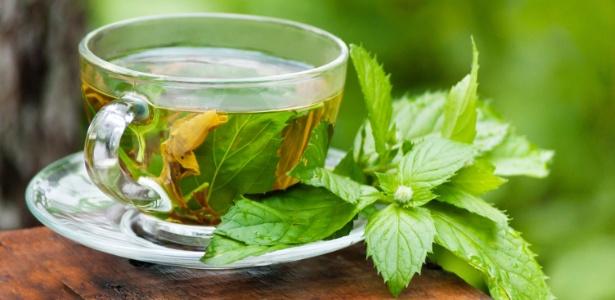Chá de menta - Chá de menta