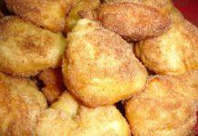 Receita das tradicionais filhoses da beira litoral, doce típico do Natal