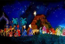 Presépio - Os Reis Magos e a Estrela de Belém