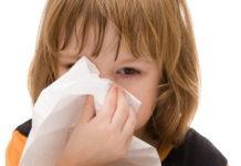 Gripe nas crianças