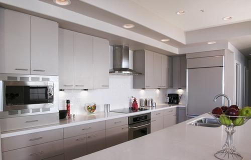 Uma cozinha limpa