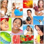 Comida saudável para pessoas activas