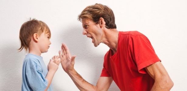 Filhos imitam atitudes dos pais
