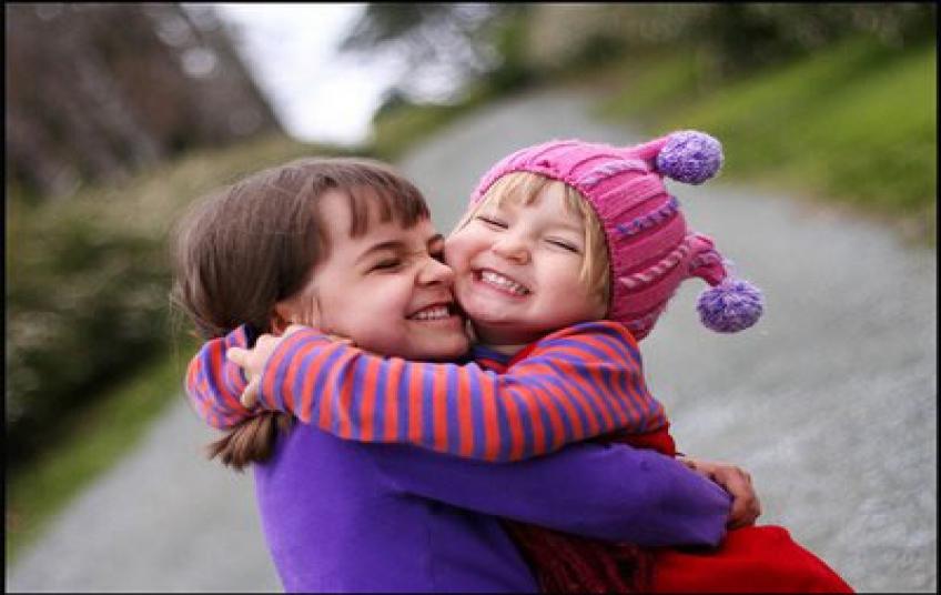 Afeto em criança adultos equilibrados e felizes