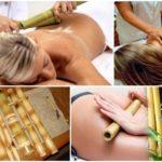 Massagem com bambus