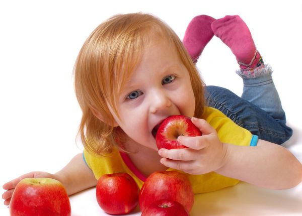 Crianças e alimentação saudável