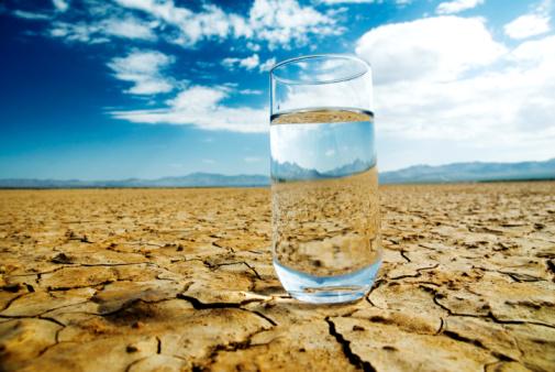 A água tem sede