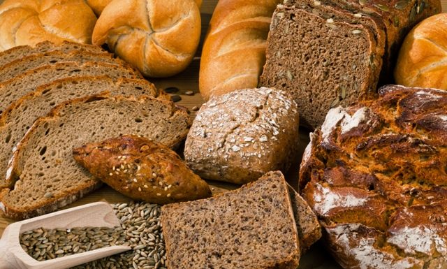 Diferentes tipos de pão