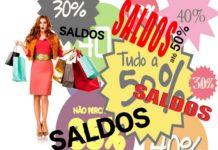 Saldos e venda de produtos com defeito