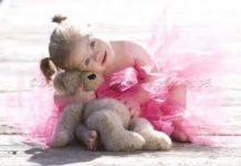 Criança com Sindrome de down ou Trissomia 21