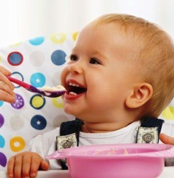 Menu para crianças de 15 meses