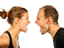 Discussão entre o casal