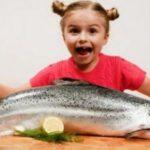 Crianças e o consumo de peixe