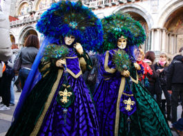 Carnaval de Veneza, um regresso ao passadoCarnaval de Veneza