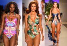 Moda Praia 2015 - Fatos de banho