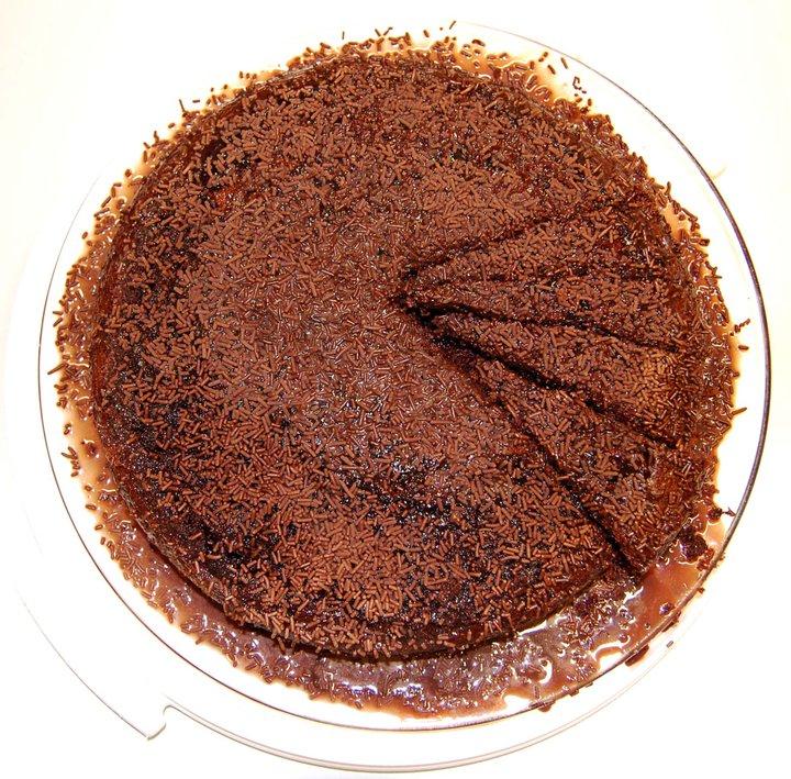 Bolo de chocolate Nesquik