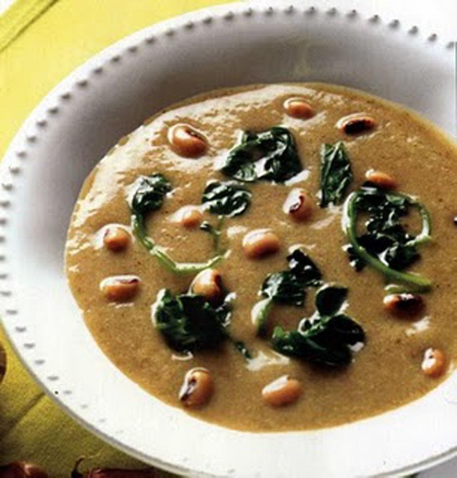 Receita de Sopa de feijão frade