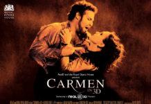 Carmen 3D um filme de Julian Napier