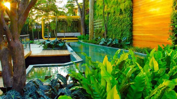 Como construir um jardim vertical