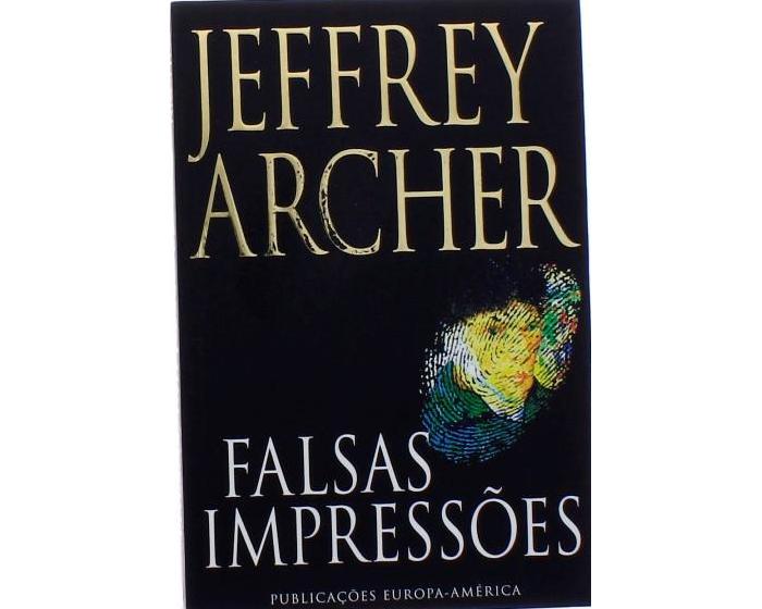 Falsas impressões de Jeffrey Archer