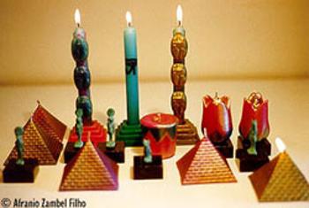 Velas - coleção Egipto