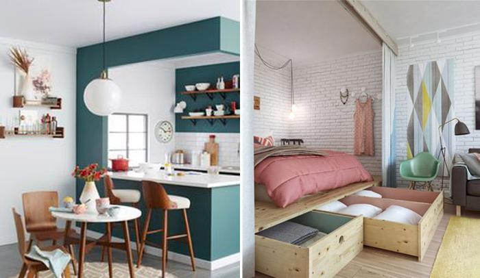 Como decorar um apartamento pequeno mas funcional mulher for Cortinas departamentos pequenos