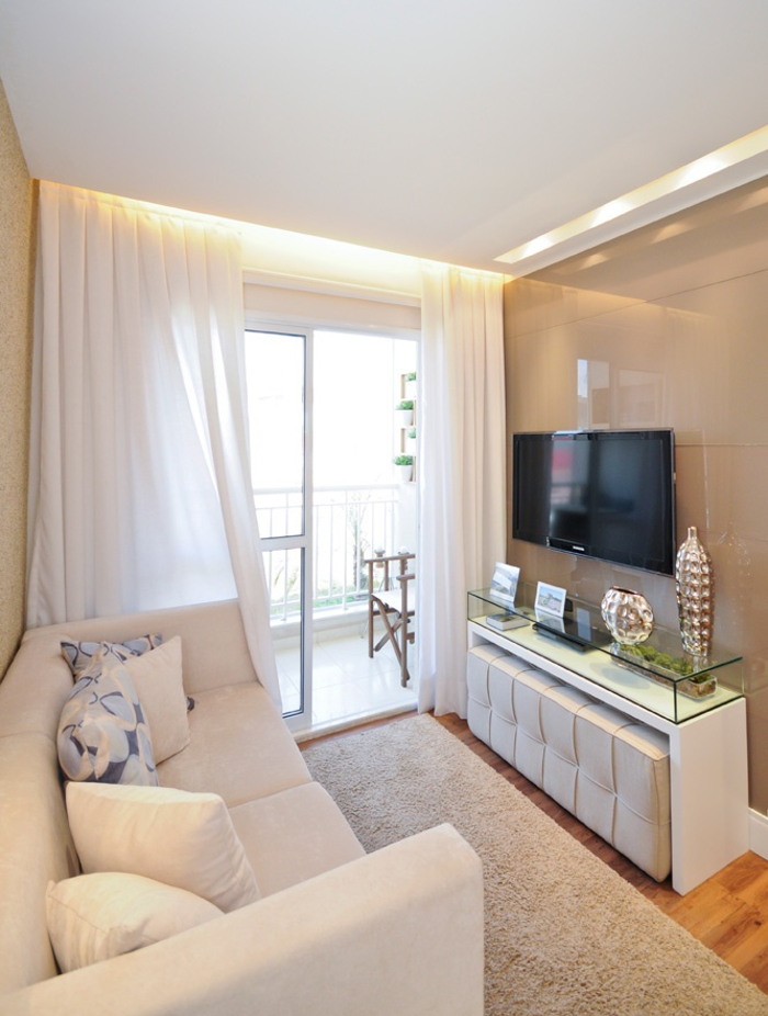 Decoração de apartamento pequeno - sala