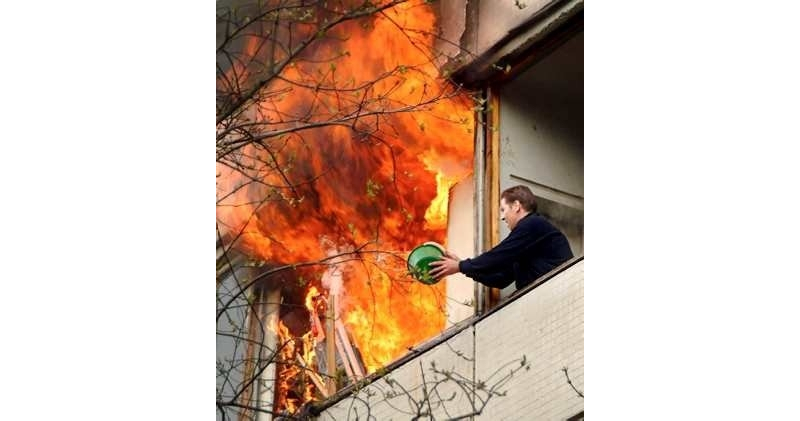 Incêndios domésticos