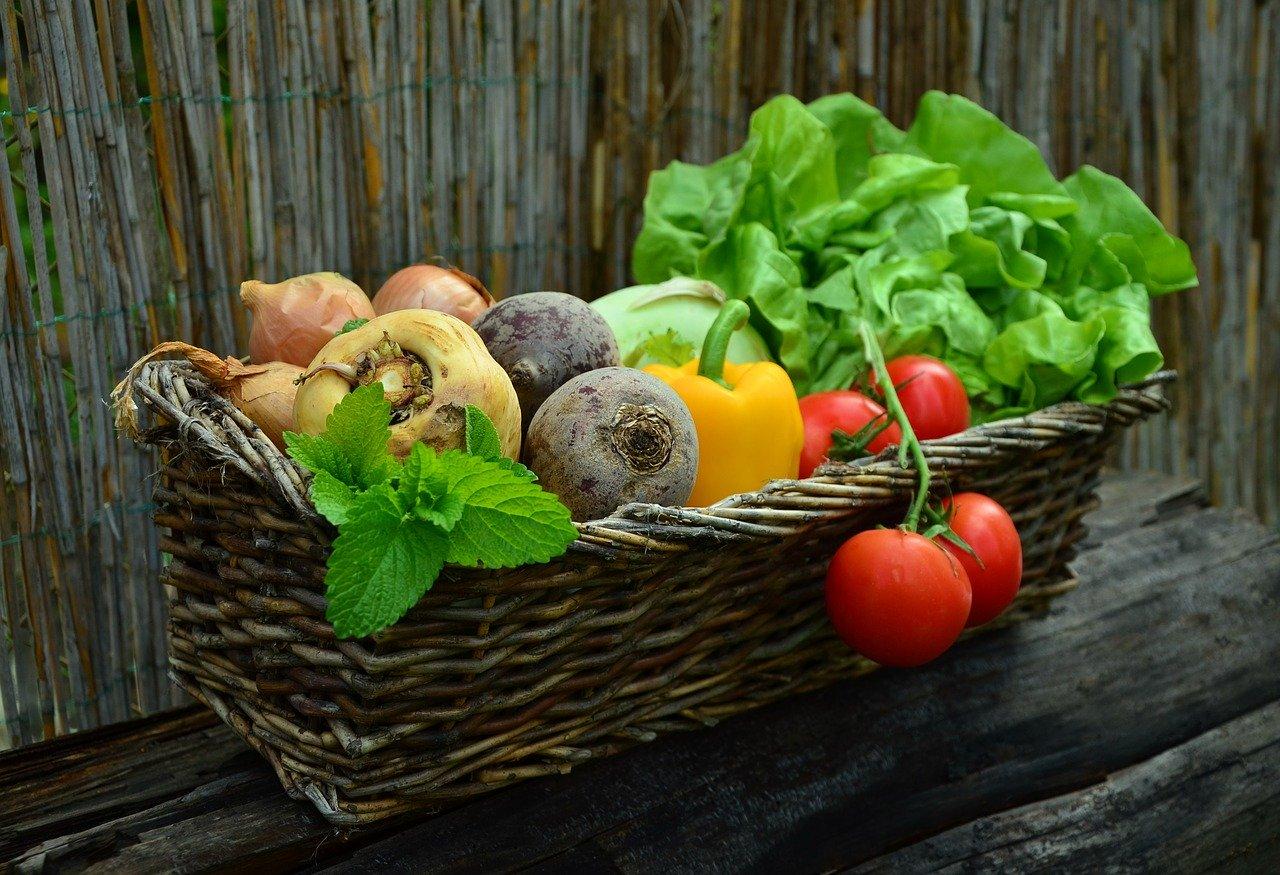 Vegetais e vitaminas