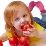 Lanche saudável para crianças entre 1-3 anos