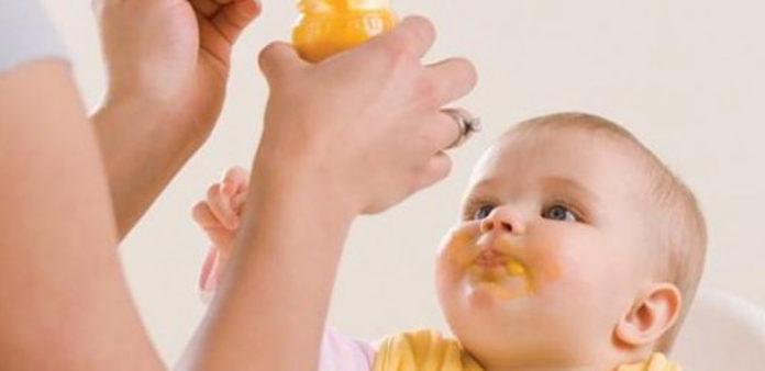 Menu para crianças a partir dos 4 meses