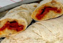 Pão com chouriço caseiro