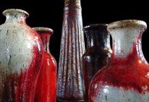 Pintar vasos e jarras
