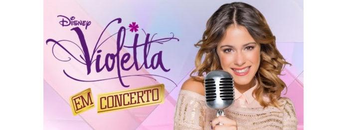 Concertos da Violetta em Portugal