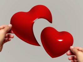 Coração despedaçado, quando a relação chega ao fim