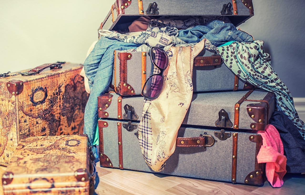 Fazer mala de viagem