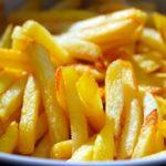 Comer gorduras - batatas fritas