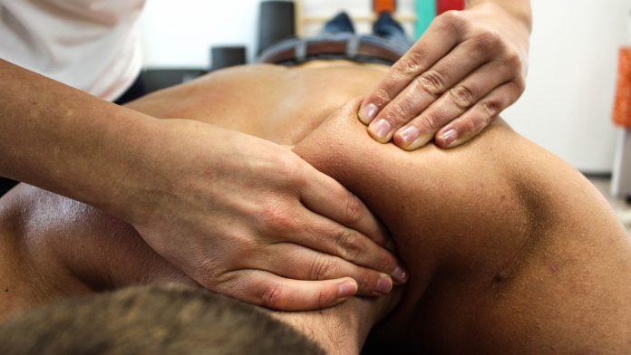 A quiroginástica, a terapia da massagem