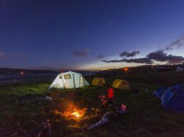 O prazer de acampar