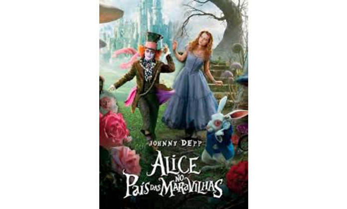 Alice no país das maravilhas de Tim Burton