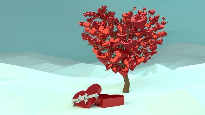 Feliz Dia de São Valentim ou Dia dos Namorados
