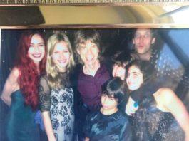 A família Jagger