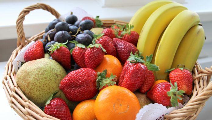 Comer fruta faz bem á saúde