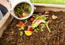O que pode colocar na pilha de compostagem